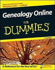 Genealogy Online For Dummies (For Dummies (Sports & Hobbies))