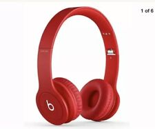 Beats By Dr Dre Solo HD 1 Red Headphones
