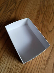 "FB-8 Fold up boxes 100 count White 5 1/8"" X 3 3/4"""