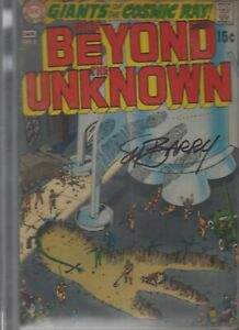 FROM  BEYOND  THE UNKNOWN (1970)   #2 - signed SY BARRY  - CBCS witnessed graded