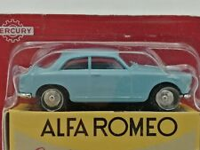 Ex Mag Alfa Romeo Giulietta Sprint Mercury Hachette -1/48 Scale with carded box