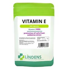 Lindens Vitamin E 100IU 200 Capsules DL Alpha Tocopherol Quality Supplement