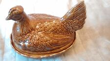 VINTAGE/RETRO Portmeirion brown chicken  casserole Susan by Williams-Ellis