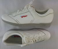 Easy Spirit Women's Leather Lace-up Shoes, White Size 9