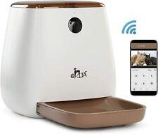 New listing Orita 12 Meals SmartFeeder,Auto Pet Dog and Cat Feeder, 1080P Hd WiFi Pet Camera