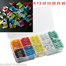 100X Low profile middle Blade Fuse Assortment Auto Car Truck Motorc DIY Sales