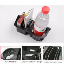Car Central Storage Box Case Cup Holder Fit Mercedes Benz C E GLC Class  Black