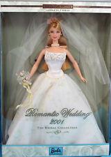Barbie 29438 ln box 2001 Romantic Wedding Blonde Doll
