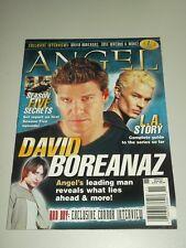 ANGEL VOLUME 1 #1 NOVEMBER/DECEMBER 2003 BUFFY DAVID BOREANAZ TITAN US MAGAZINE
