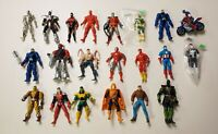 Marvel Superheroes 1990-2011 ToyBiz Hasbro Action Figure Lot Of 21 Figures