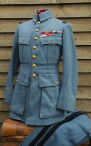 WW1 - French Horizon Blue Uniform - General Louis Vicomte de la Panouse -1916
