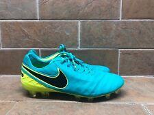 Nike Tiempo Legend VI FG Men Soccer Clear Jade/volt/black 819177 307 Sz 9.5