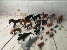 Playmobile tiburón martillo, paquete de animales, caballos, sello, Fox Tejón Etc