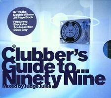 CLUBBERS GUIDE TO NINETY NINE - 2 X CDS IBIZA TRANCE & HOUSE CLASSICS- CD CDJ DJ
