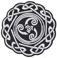 Écusson patche Symbole Celte Celtique patch Gaulois brodé thermocollant