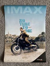 James Bond No Time To Die IMAX Version DS Original 27x40 Movie Poster 007