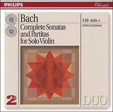 Bach: Complete Sonatas and Partitas for Solo Violin, , Good