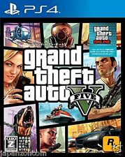 Used PS4 PS4 Grand Theft Auto V SONY PLAYSTATION 4  JAPANESE JAPONAIS IMPORT