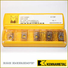 XDMT 2322R KC725M KENNAMETAL *** 10 INSERTS *** FACTORY PACK ***