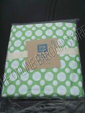 Pottery Barn Teen Double Polka Dot Bed Dorm Duvet Cover Full Queen FQ Green
