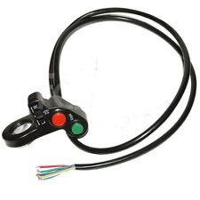 """7/8"""" 12V Head Light Switch Horn Turn Signal on off E-bike Scooter Motorcycle ATV"""