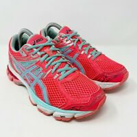 Asics GT-1000 Pink Mint Athletic Running Shoes T4K8N Womens Size 7.5