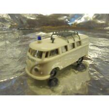 ** Brekina 31601 VW T1 Kombi Police Van White 1:87 HO Scale