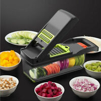 ONSON Food Vegetable Salad Fruit Peeler Cutter Slicer Dicer Chopper Kitchen Tool
