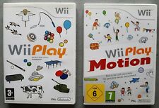 Lot 2 jeux WII PLAY + WII PLAY MOTION - Nintendo Wii - Français (PAL)