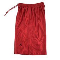 Vintage 90s Nike Air Jordan Basketball Athletic Shorts Mens Large Shiny Red