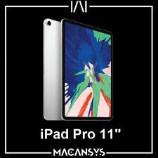 Apple iPad Pro 11 inch 3rd Generation Wi-Fi only 256GB Silver New MTXR2B/A