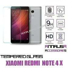 PELLICOLA VETRO TEMPERATO XIAOMI REDMI NOTE 4X TEMPERED GLASS SCREEN PROTECTOR
