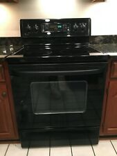 *Pick Up Only*Ge Profile Spectra Shiny Black Electric Oven W/ Convection +