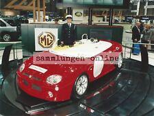 MG MGF Sportwagen Roadster Cabrio Foto Auto Photograph Pressefoto