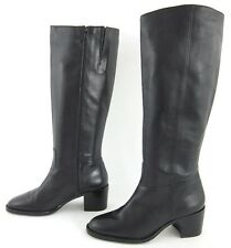 NEW! Etienne Aigner 'Champion' Knee High Side Zip Boots Black Sz 7.5M