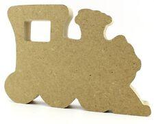 18mm MDF Freestanding Train - Ideal Baby Gift - Craft Blank Shape CNC Cut