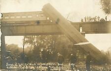 9 RPPC Postcards, L.V.R.R. Lehigh Valley Wreck, Rochester NY GAR Reunion 1911