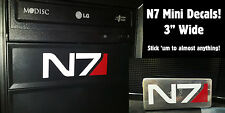Mass Effect N7 Minis!  Decal Sticker for Window, Xbox 360 & more!