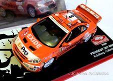PEUGEOT 307 WRC SOLBERG RALLY MONTECARLO 1/43 IXO ALTAYA