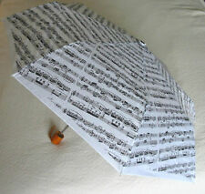 Music Gift Manuscript Design Umbrella Student Teacher Musician Gift NEW