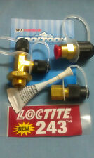 ROBINAIR, Vacuum Pump, Universal Inlet Tee Kit, 1/4NPTM x 1/4MF x 1/4MF, #T3-4B