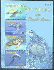 """MICRONESIA """"TURTLES OF THE PACIFIC OCEAN"""" SHEET MINT NH"""
