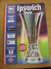 18/10/2001 Ipswich Town v Helsingborgs [UEFA Cup] . Item in very good condition,