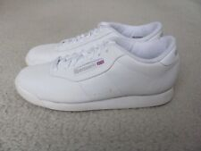 Reebok Classics Women's White Colored Leather Tennis Shoes Size 8 1/2