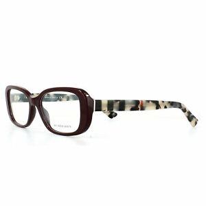 Burberry Eyeglasses Frames BE2228 3602 Bordeaux 53mm Womens