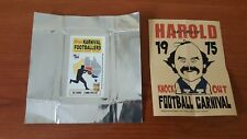 Acheron Korny's Karnival Footballers 1975 Mini POSTER Alex JESAULENKO & WRAPPER