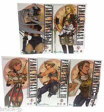Final Fantasy XII 12 Manga Square Enix Japanese Import set of 5 books