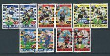 Nueva Zelanda 1999 Rugby Super 12 Conjunto de 10 Fine Used SG 2248-57