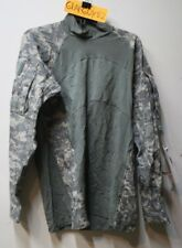 NEW!  MASSIF FLAME RESISTANT FR Army Combat Shirt ACU  Large  X5