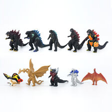 10pcs Monster king Godzilla Pvc action figure play toy king Ghidorah mothra gift